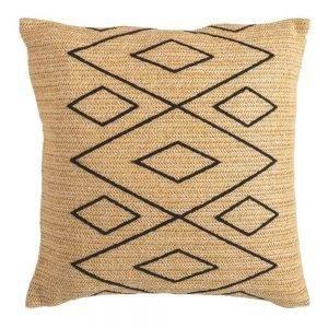 Conjunto de Exterior Maori para jardim, 1 sofa/puff, 1 toldo e 3 almofadas, Multicor 16