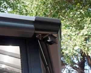 Palram - Canopia   Pérgula de Jardim Garda de Policarbonato, Cor Bronze e Cinzento 9