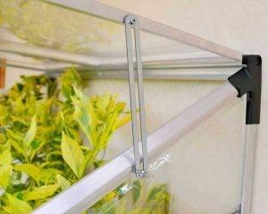 Palram - Canopia | Estufa de Jardim Lean To em Policarbonato para cultivo de plantas 6